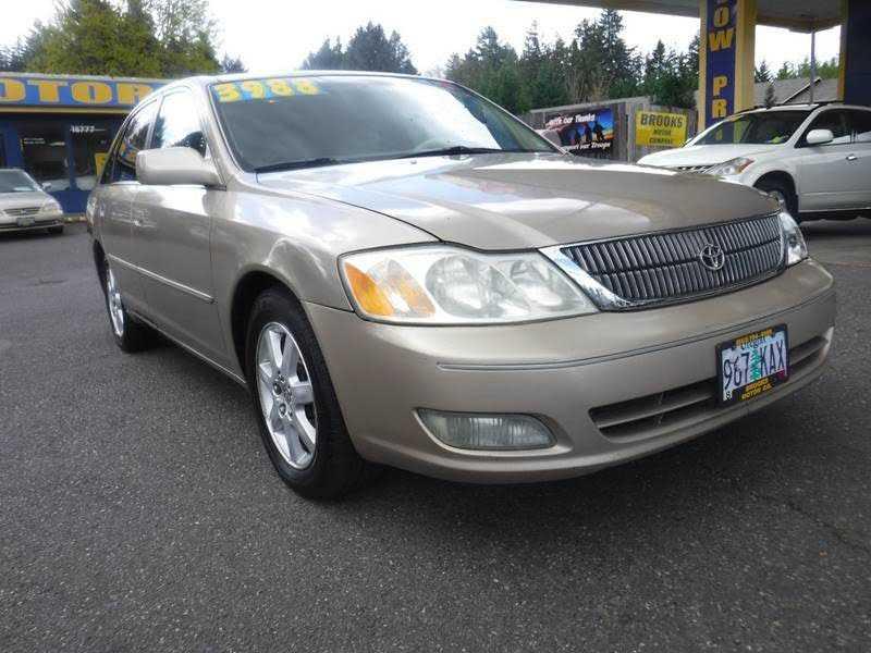 Toyota Avalon 2001 $3988.00 incacar.com