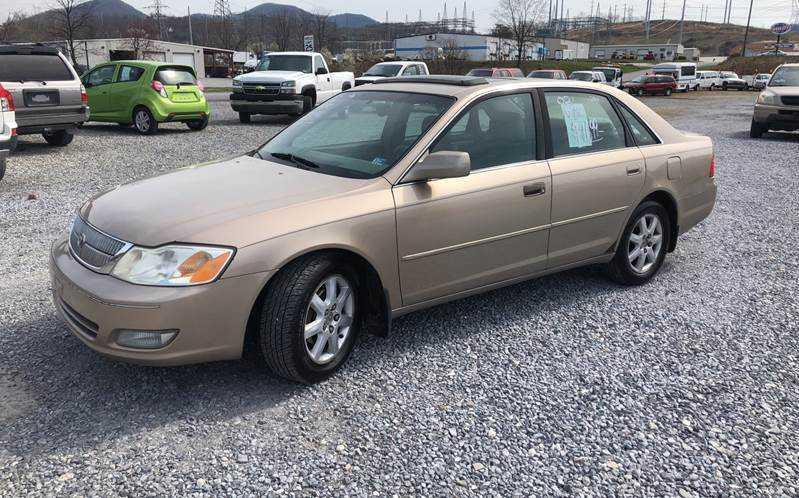 Toyota Avalon 2002 $1699.00 incacar.com