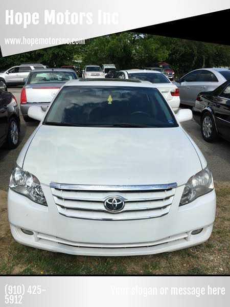 Toyota Avalon 2007 $7200.00 incacar.com