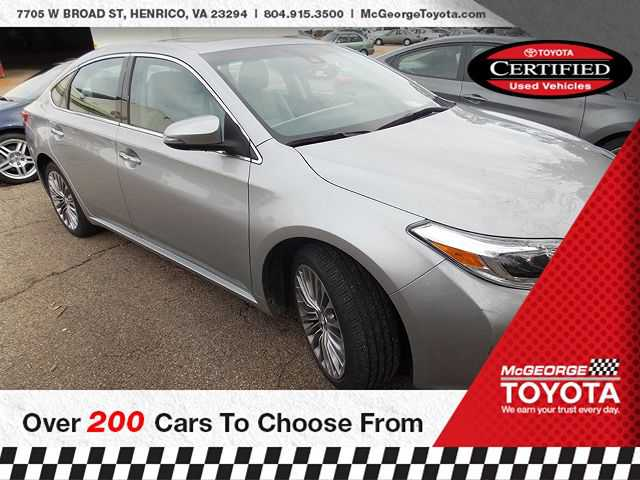 Toyota Avalon 2016 $25897.00 incacar.com