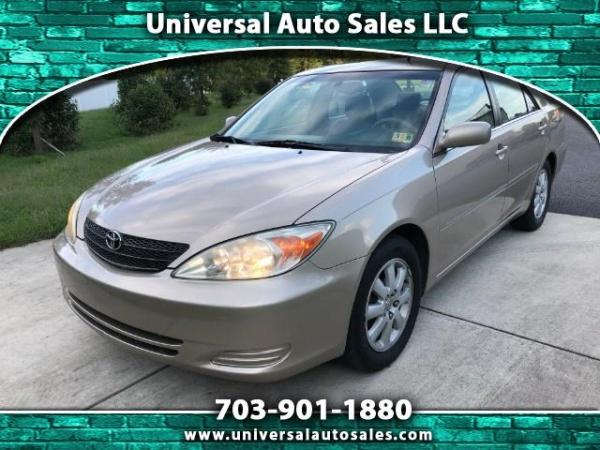 Toyota Camry 2002 $3495.00 incacar.com