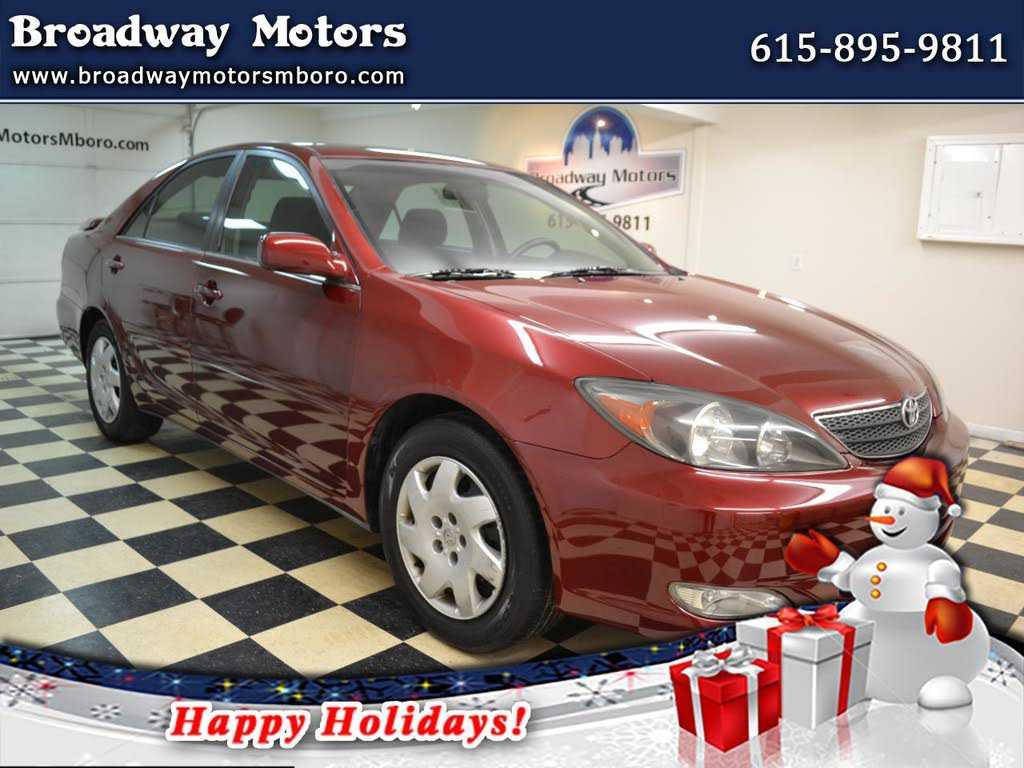 Toyota Camry 2002 $3995.00 incacar.com