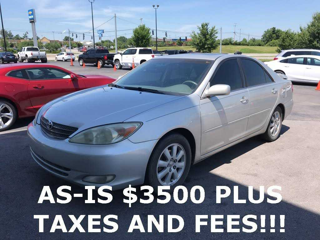 used Toyota Camry 2004 vin: 4T1BE30KX4U883130