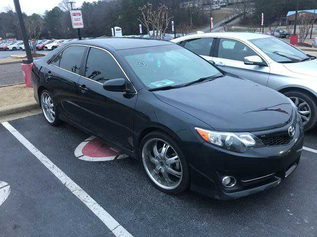 used Toyota Camry 2014 vin: 4T1BF1FK3EU325517