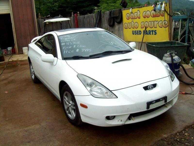 Toyota Celica 2000 $1795.00 incacar.com
