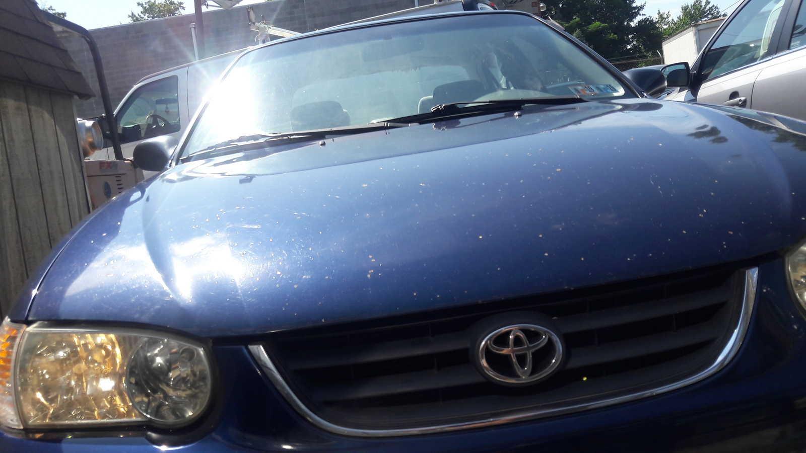 2001 Toyota Corolla Hatchback