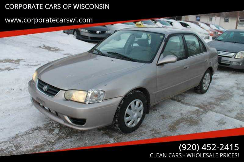 Toyota Corolla 2001 $995.00 incacar.com