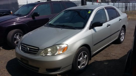 Toyota Corolla 2003 $5499.00 incacar.com