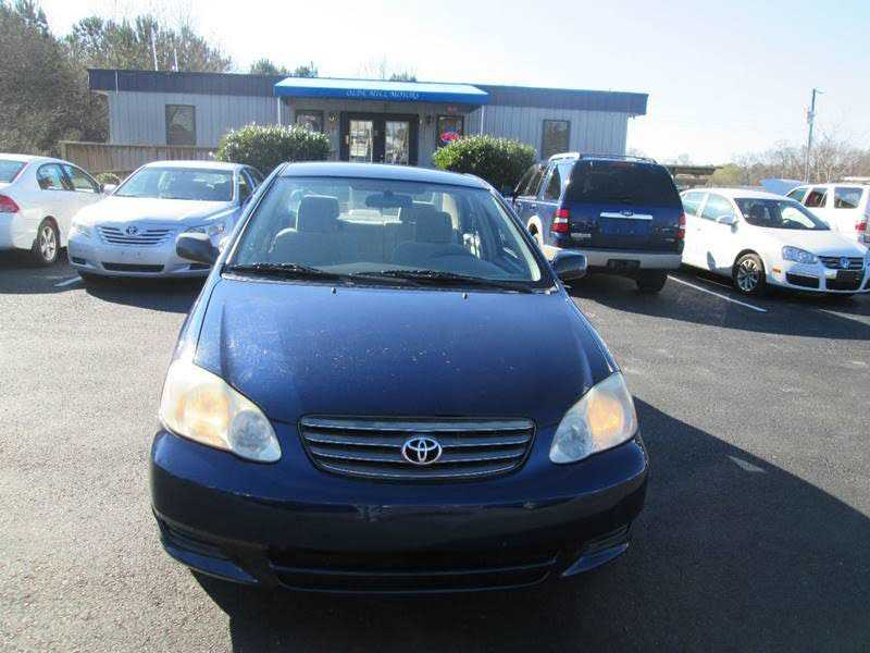 Toyota Corolla 2003 $5490.00 incacar.com