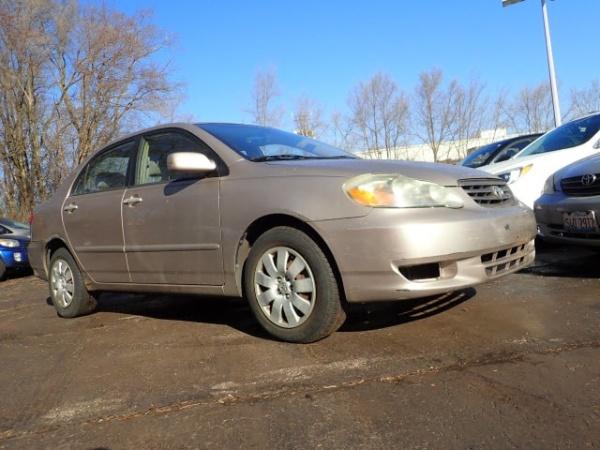 Toyota Corolla 2003 $3443.00 incacar.com