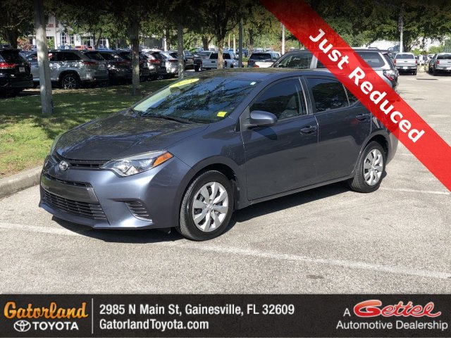 Toyota Corolla 2015 $13292.00 incacar.com