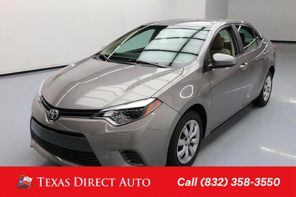 Toyota Corolla 2016 $14380.00 incacar.com