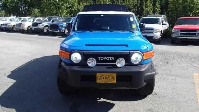 used Toyota FJ Cruiser 2007 vin: JTEBU11F870028009