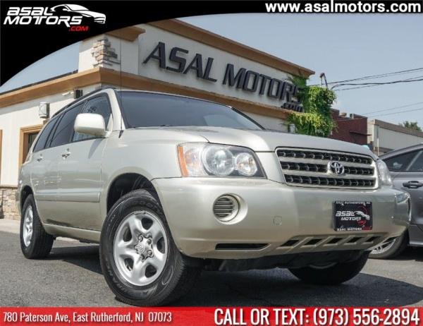 Toyota Highlander 2001 $3895.00 incacar.com