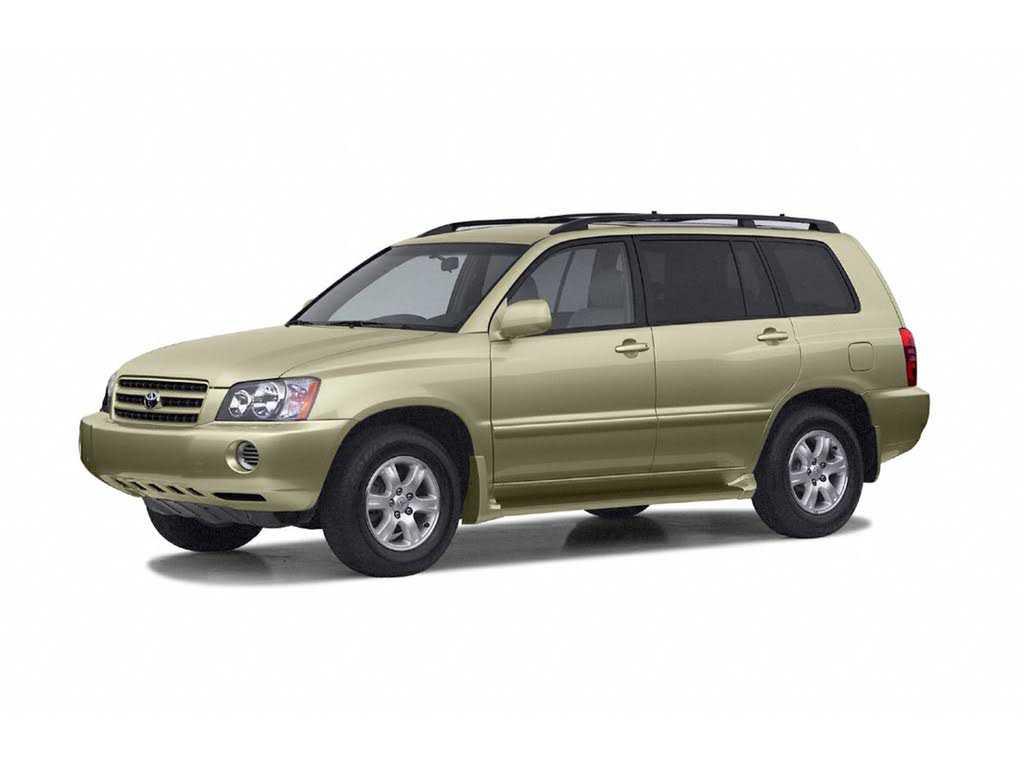 Toyota Highlander 2002 $2994.00 incacar.com