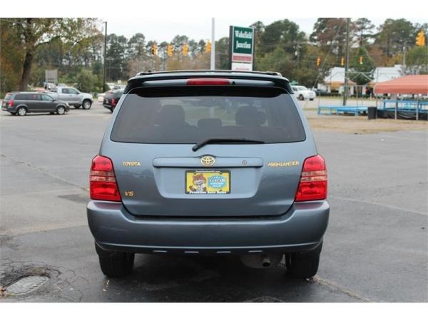 Toyota Highlander 2003 $3975.00 incacar.com