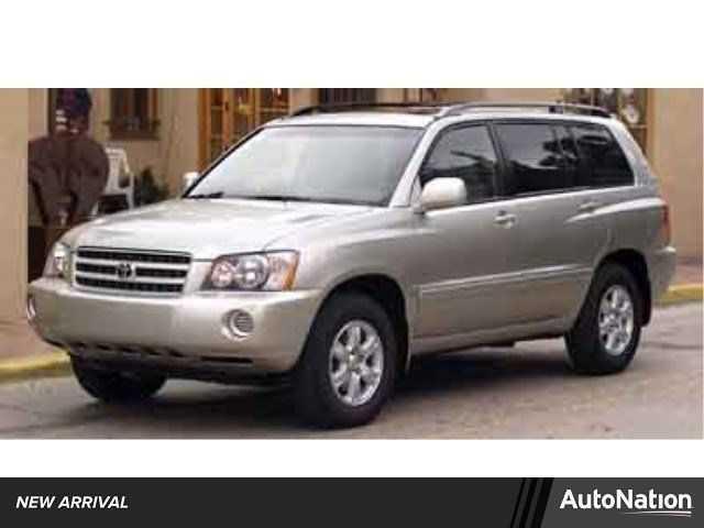 Toyota Highlander 2003 $5996.00 incacar.com