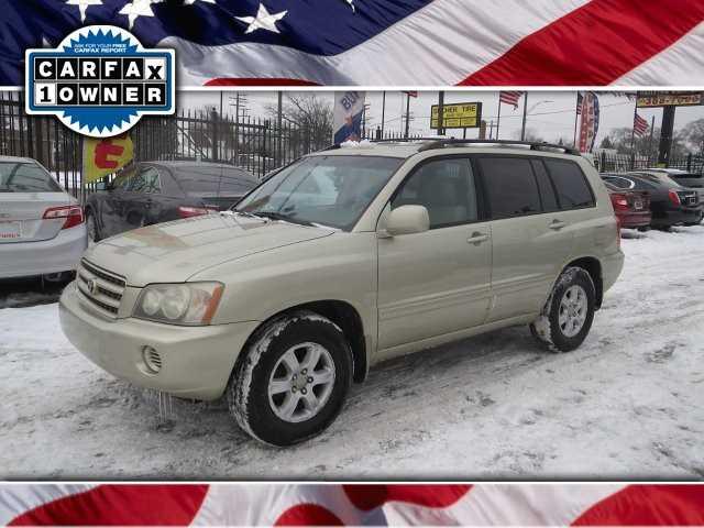 Toyota Highlander 2003 $4995.00 incacar.com