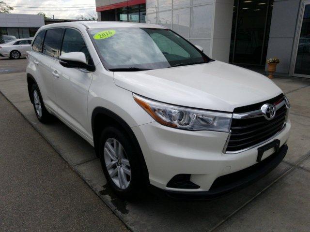 Toyota Highlander 2016 $26798.00 incacar.com