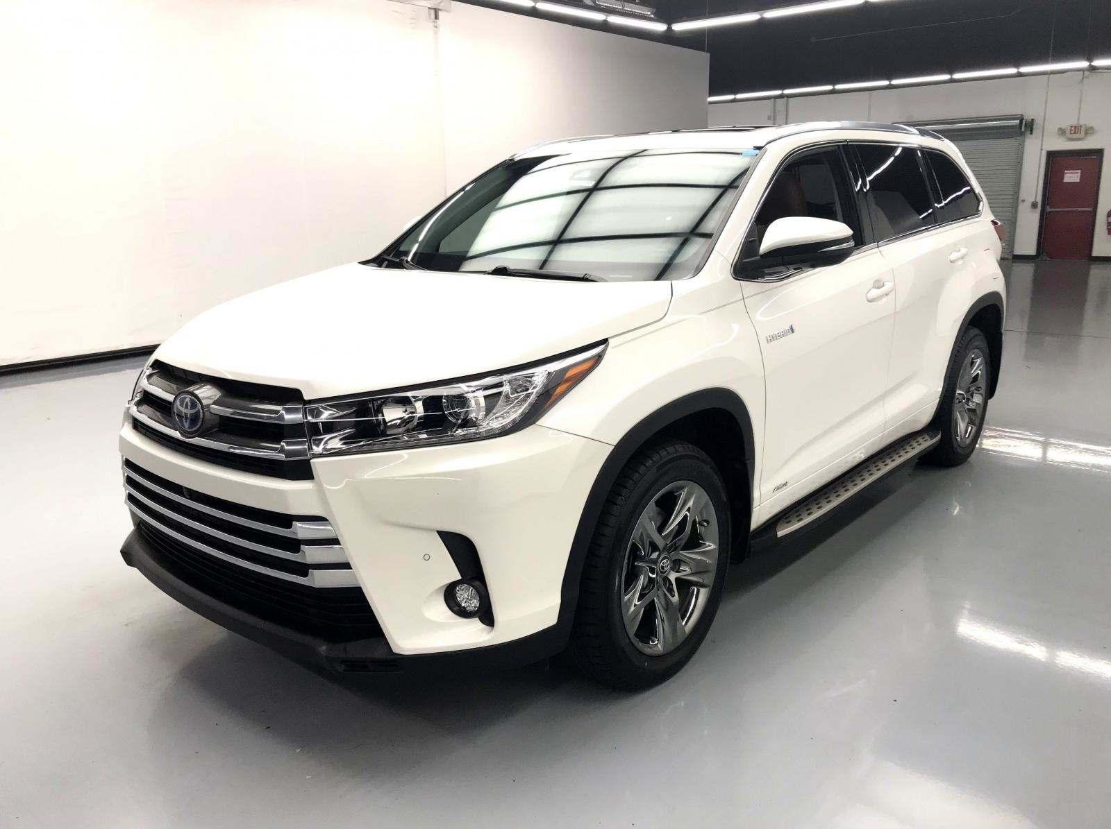 used Toyota Highlander 2018 vin: 5TDDGRFH7JS044736
