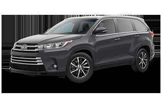 Toyota Highlander 2019 $42683.00 incacar.com
