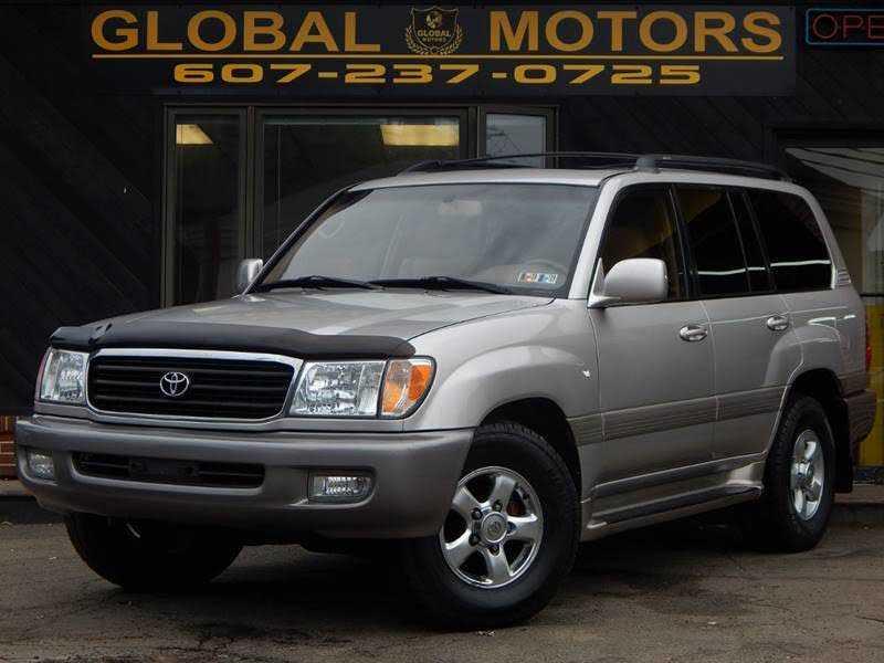 Toyota Land Cruiser 2002 $12397.00 incacar.com