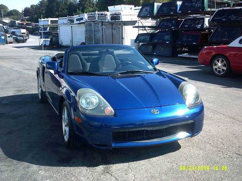 Toyota MR2 Spyder 2000 $10900.00 incacar.com