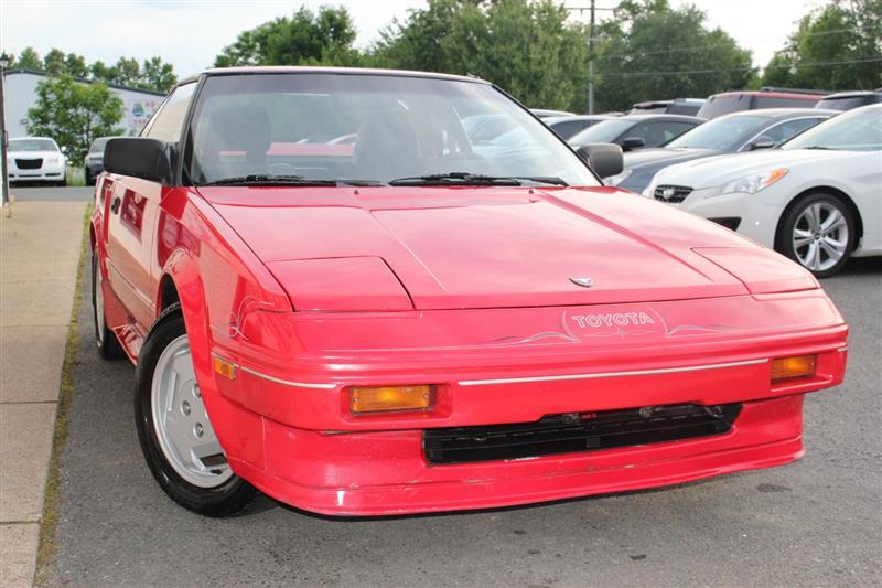Toyota MR2 1986 $10995.00 incacar.com