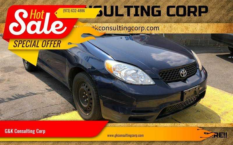 Toyota Matrix 2003 $1599.00 incacar.com
