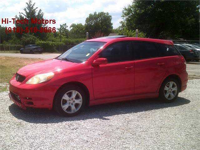 Toyota Matrix 2003 $3000.00 incacar.com