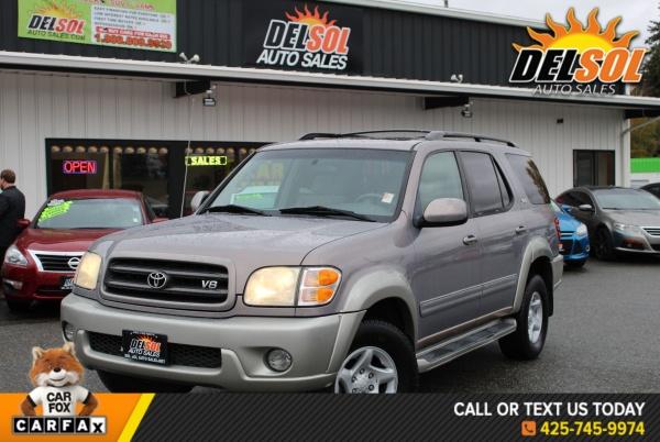 Toyota Sequoia 2002 $5295.00 incacar.com