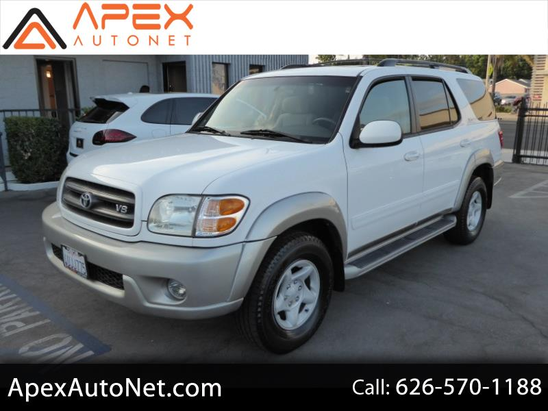 used Toyota Sequoia 2002 vin: 5TDZT34A92S067585