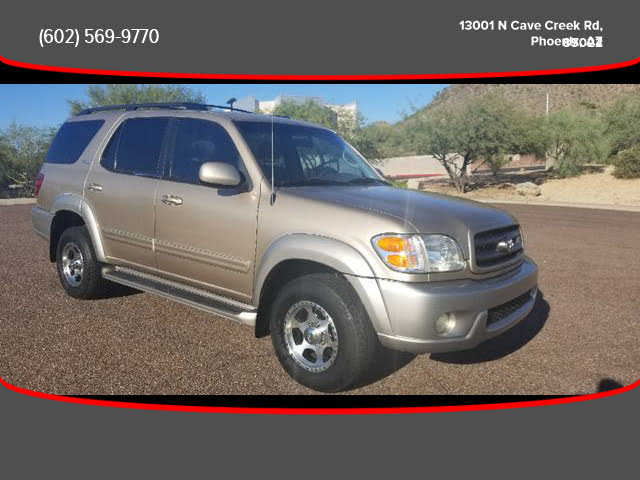 used Toyota Sequoia 2002 vin: 5TDZT34A82S058117