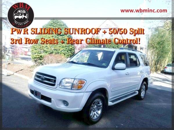 Toyota Sequoia 2003 $6995.00 incacar.com