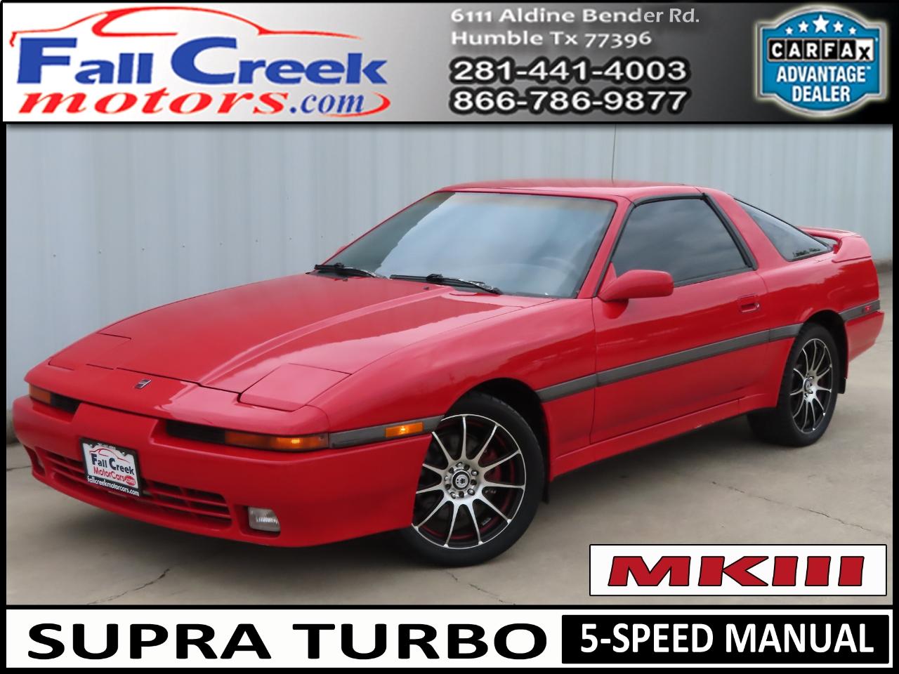 Toyota Supra 1990 $14980.00 incacar.com