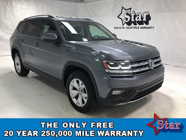 used Volkswagen Atlas 2018 vin: 1V2CR2CA7JC569493