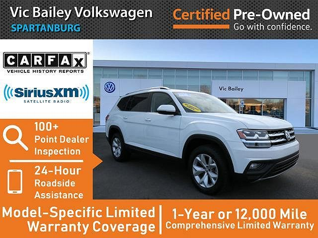 used Volkswagen Atlas 2018 vin: 1V2CR2CA5JC562185