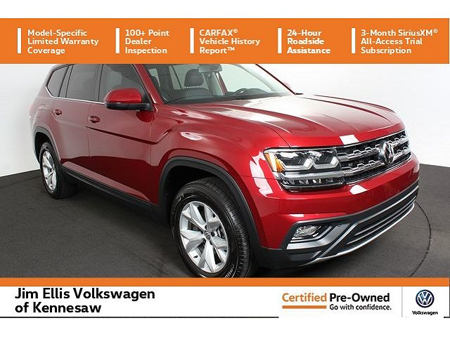 used Volkswagen Atlas 2018 vin: 1V2CR2CA5JC570450