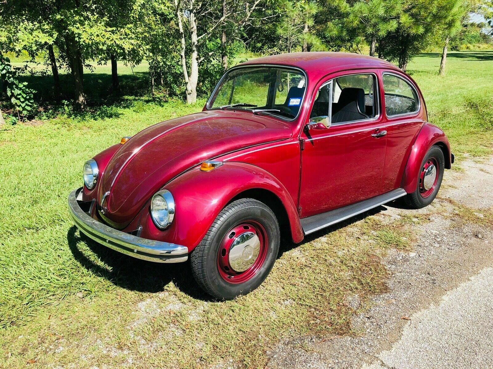 used Volkswagen Beetle 1968 vin: 118221993