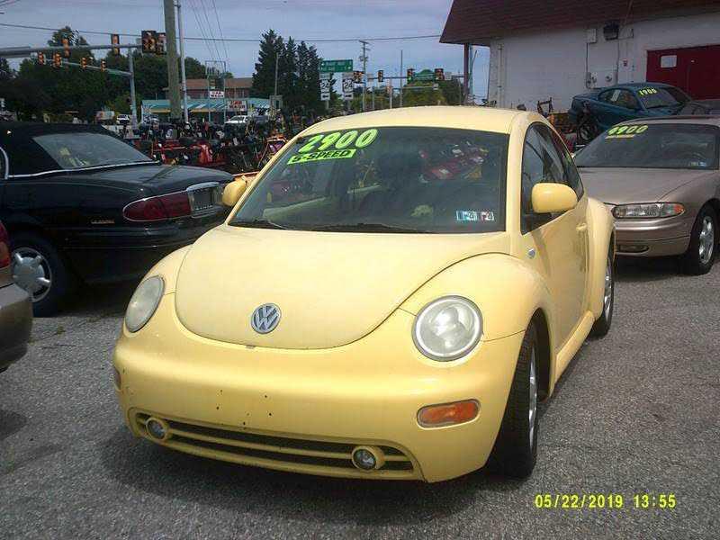 used Volkswagen Beetle 1999 vin: 3VWCC21C6XM424778