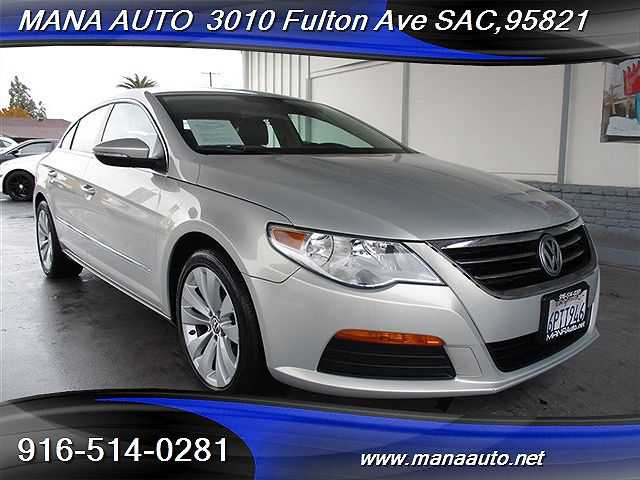 used Volkswagen CC 2011 vin: WVWMP7AN2BE707123