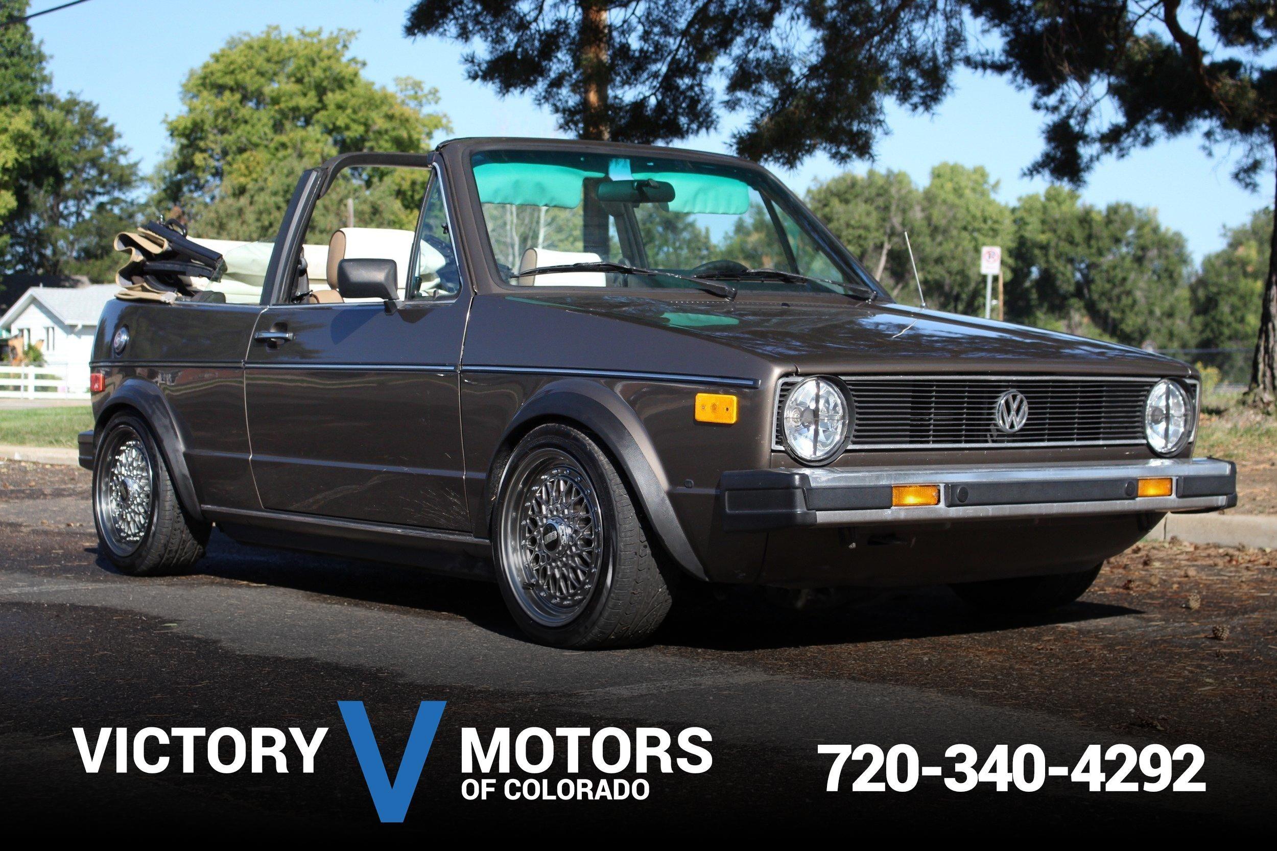 used Volkswagen Cabriolet 1987 vin: WVWCA0152HK026135