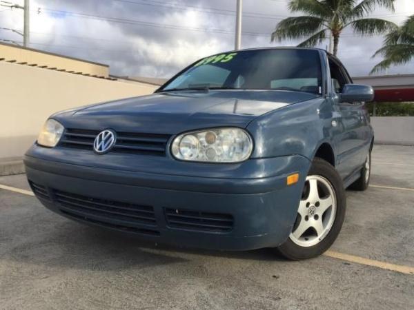 Volkswagen Cabriolet 2000 $4995.00 incacar.com