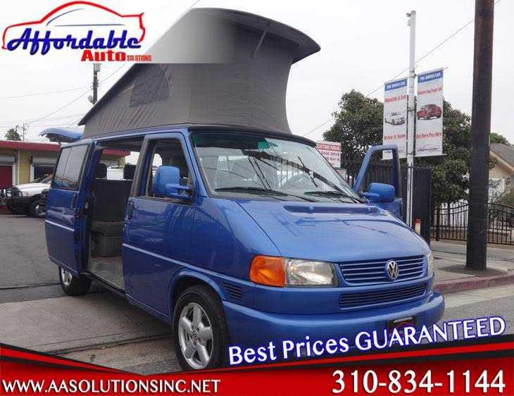Volkswagen EuroVan 2001 $19888.00 incacar.com