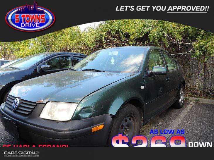 Volkswagen Jetta 2001 $799.00 incacar.com