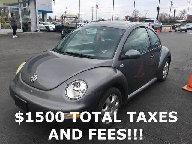 Volkswagen New Beetle 2002 $1500.00 incacar.com