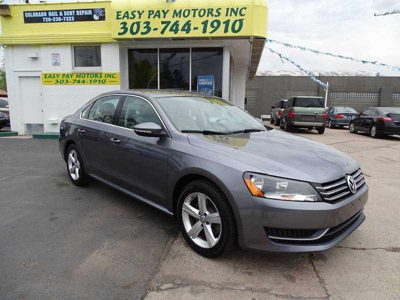 Volkswagen Passat 2012 $7999.00 incacar.com