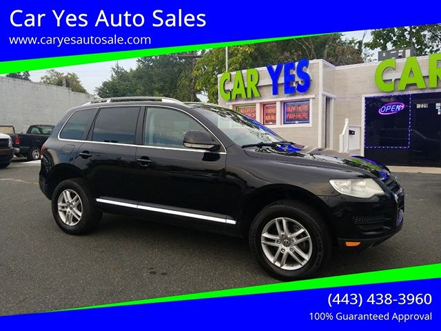 used Volkswagen Touareg 2010 vin: WVGFK7A90AD001651