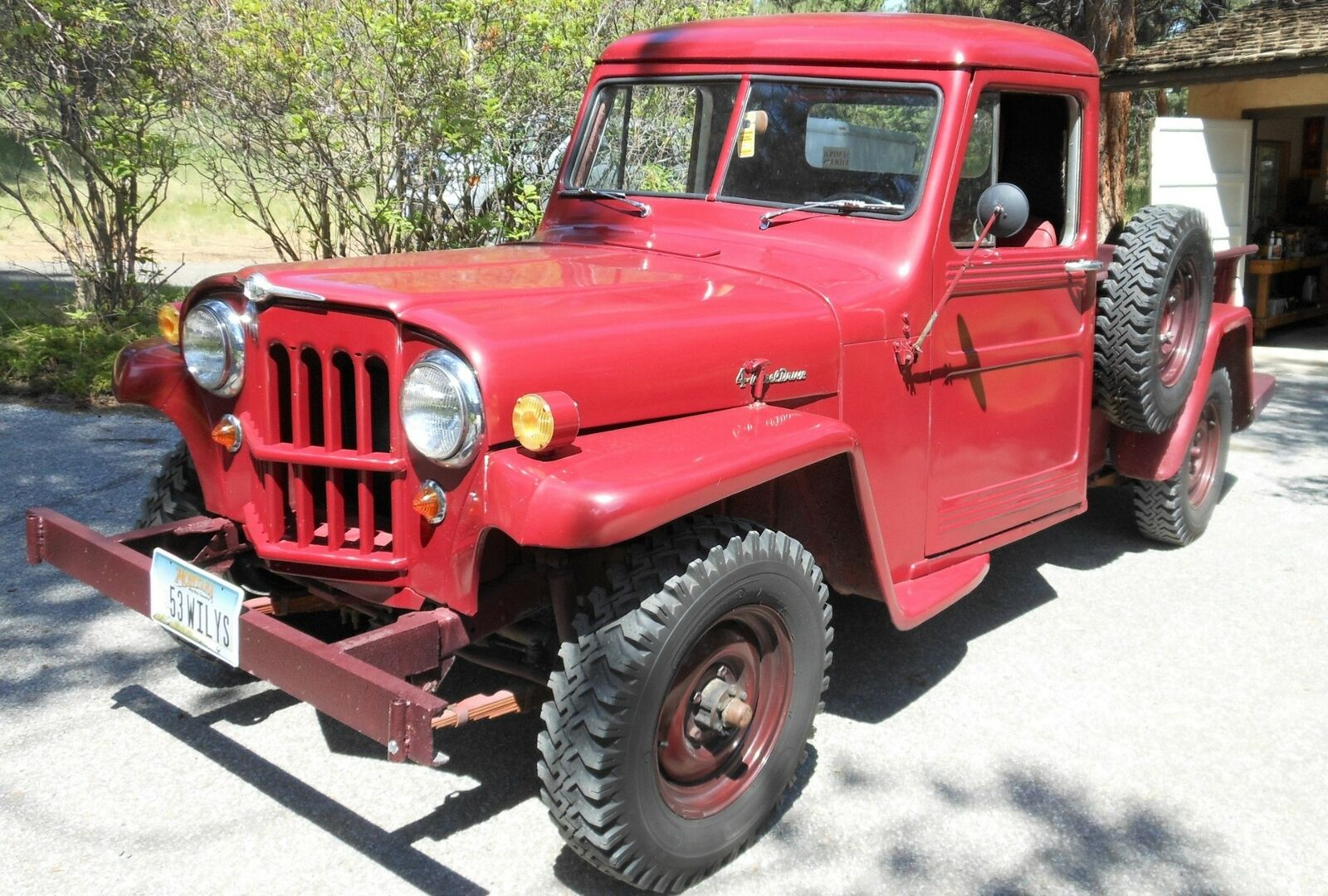 used Willys Pickup 1953 vin: 453-EC215823