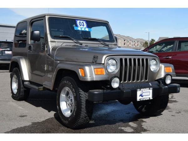 Jeep Wrangler 2003 $10000.00 incacar.com